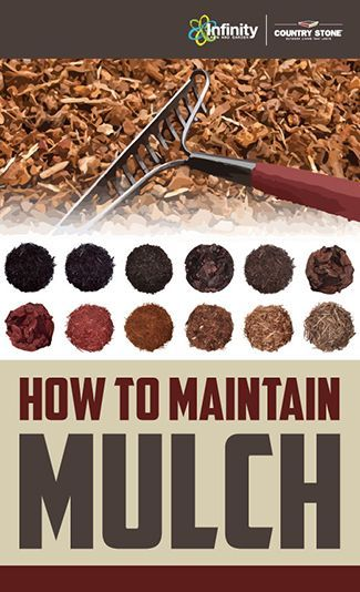 Simple steps to maintaining mulch! #mulch #maintenance | knock on wood :: mulch | InteriorDesignPro