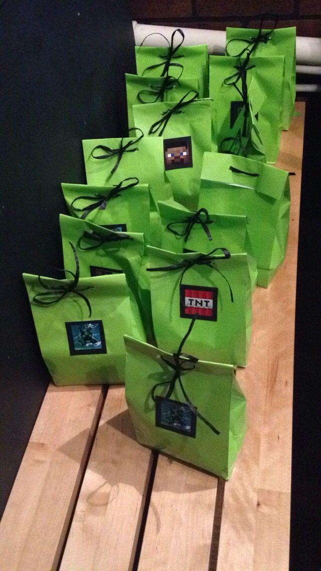 Minecraft goodie bags