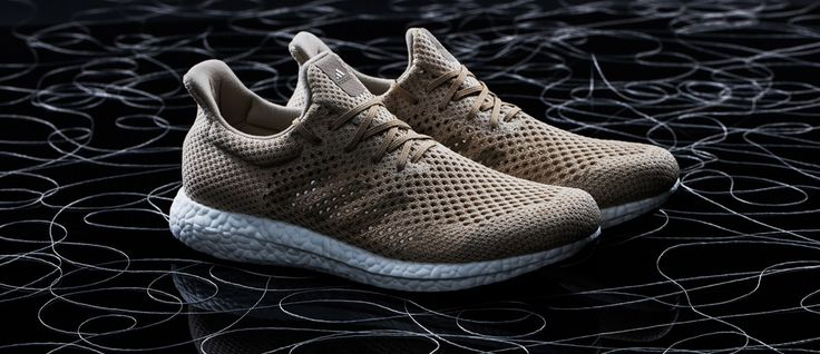 adidas introduces the adidas Futurecraft Biofabrice, the world's first performance shoe made using Biosteel – a replication of natural spider silk fibers.