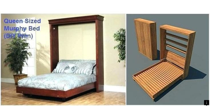 Learn About Diy Hidden Bed Desk Follow The Link To Learn More The