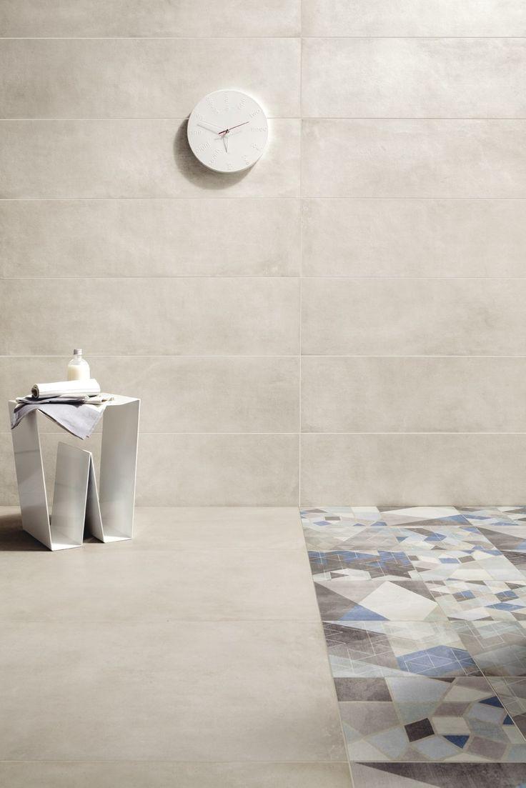 22 best bathroom design images on pinterest bath design pavimentorivestimento in gres porcellanato effetto cemento one gesso by ceramiche caesar dailygadgetfo Choice Image