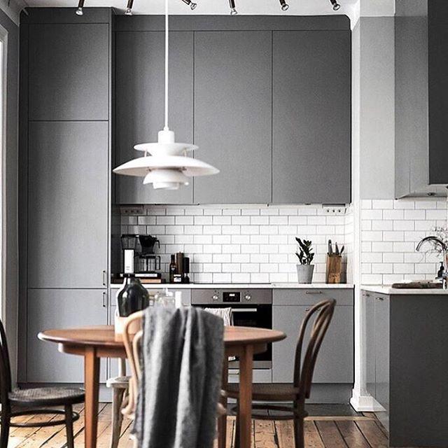 SIMPLICITY. via @scandinavianhomes #scandinavian #interior #homedecor #simplicity #kitchen