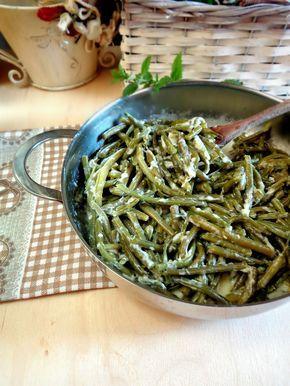 http://blog.cookaround.com/lamimosarosa/fagiolini-in-padella-con-stracchino-e-menta/