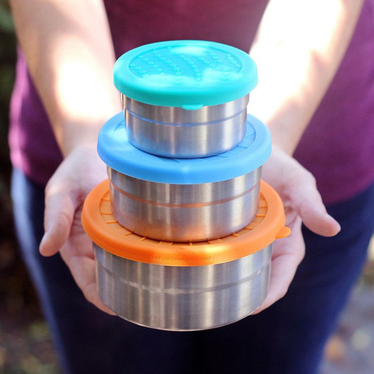 Say Goodbye to Plastic With These Portion-Perfect Stainless Containers