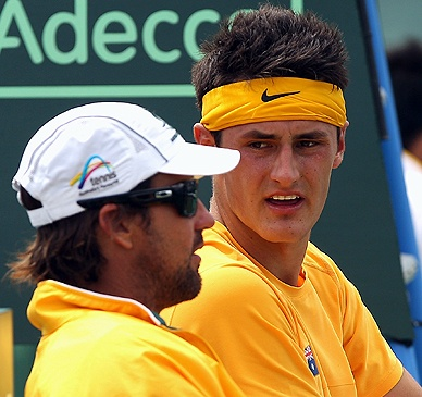 """It's Pat's call"": Tennis Australia on Bernard Tomic fallout. FULL STORY: http://yhoo.it/ViUyar #tennis #AusOpen"
