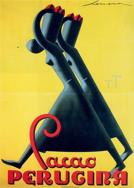 Federico Seneca, Cacao Perugina, 1930