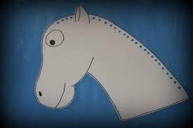 Výsledek obrázku pro sv. martin na bílém koni pracovní list