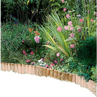 Buy Log Roll Edging - Pack of 2 at Argos.co.uk - Your Online Shop for Garden…