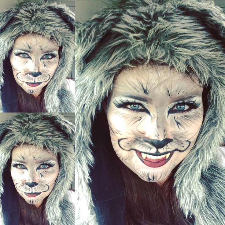 big bad wolf makeup - photo #11