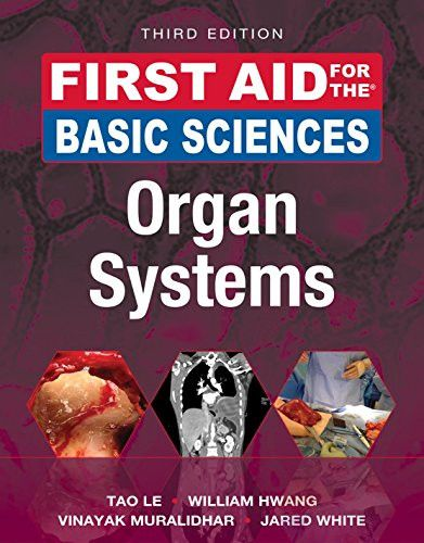 The 7 best our favourite medical books images on pinterest first aid for the basic sciences organ systems third edition first aid series fandeluxe Choice Image