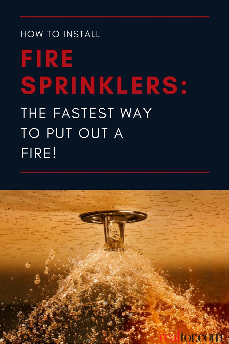 Home sprinklers can control and extinguish a fire far faster than it would take for the fire brigade to show up at your door. In fact, according to the National Fire Protection Association, the risk of dying in a house fire decreases by 80% in homes where sprinklers are installed. Ready to protect your home? Here's what you need to know to install fire sprinklers in your home.