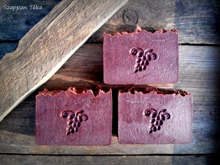 Szappan Téka: Vörösboros-szőlőmaglisztes szappan