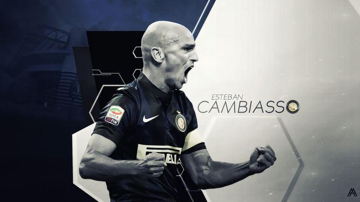 Esteban Cambiasso (Internazionale Milano) by AlbertGFX.deviantart.com on @DeviantArt