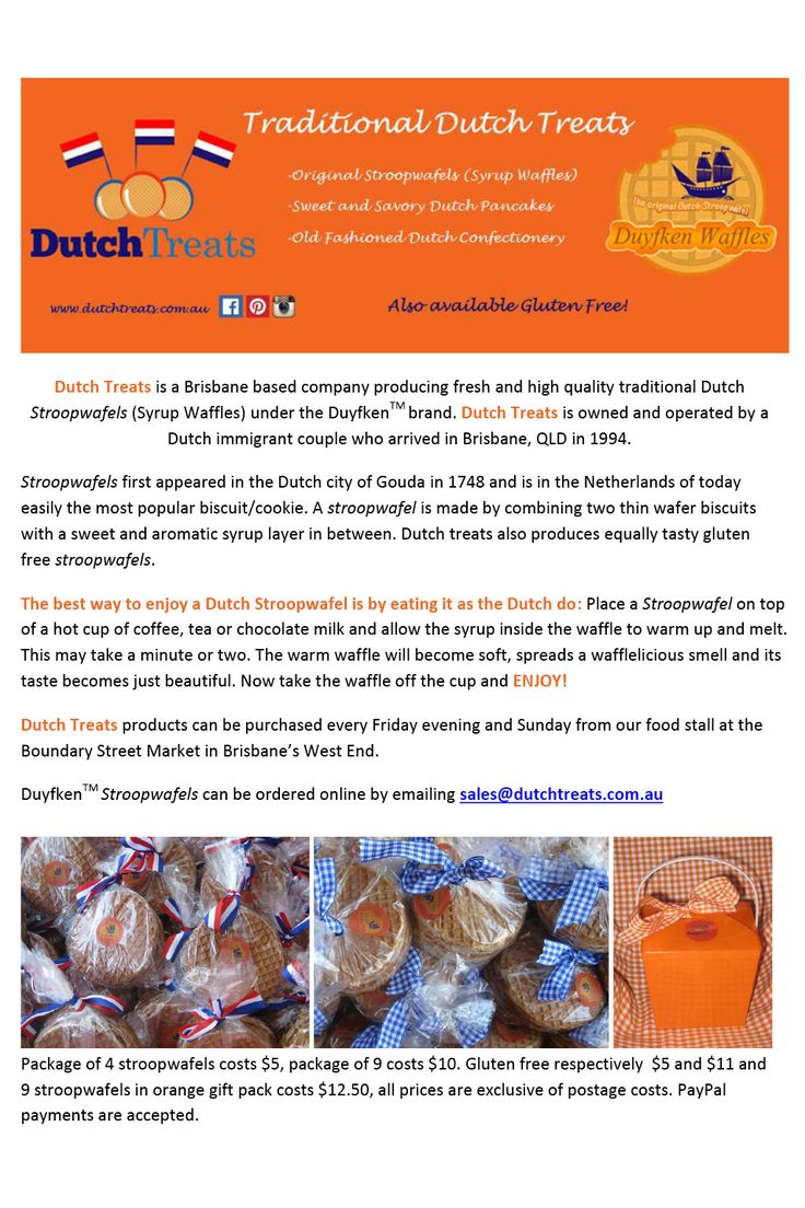 Dutch Treats. SIBW Issue#1. See also http://www.sibw.com.au/dutch-treats/