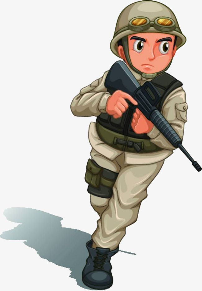 Millions Of Png Images Backgrounds And Vectors For Free Download Pngtree Caricature Soldier Png