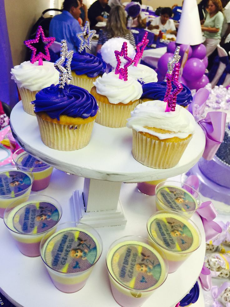Cupcakes sofia the first party my daughter birthday