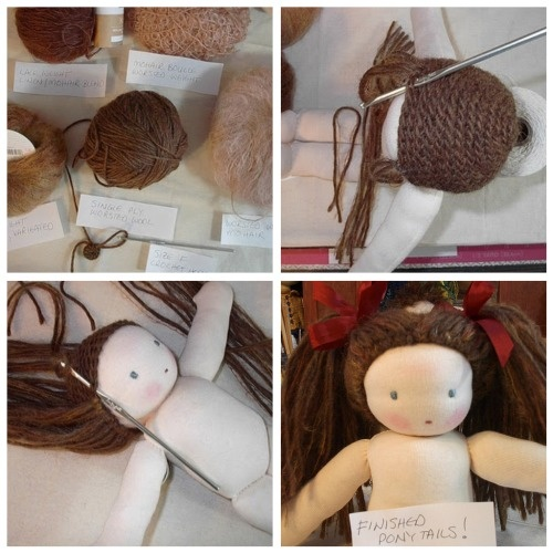 How To Make A Waldorf Doll- tutorial