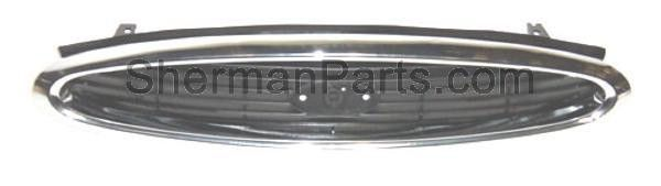 1998-2000 Ford Contour Grille Chrome
