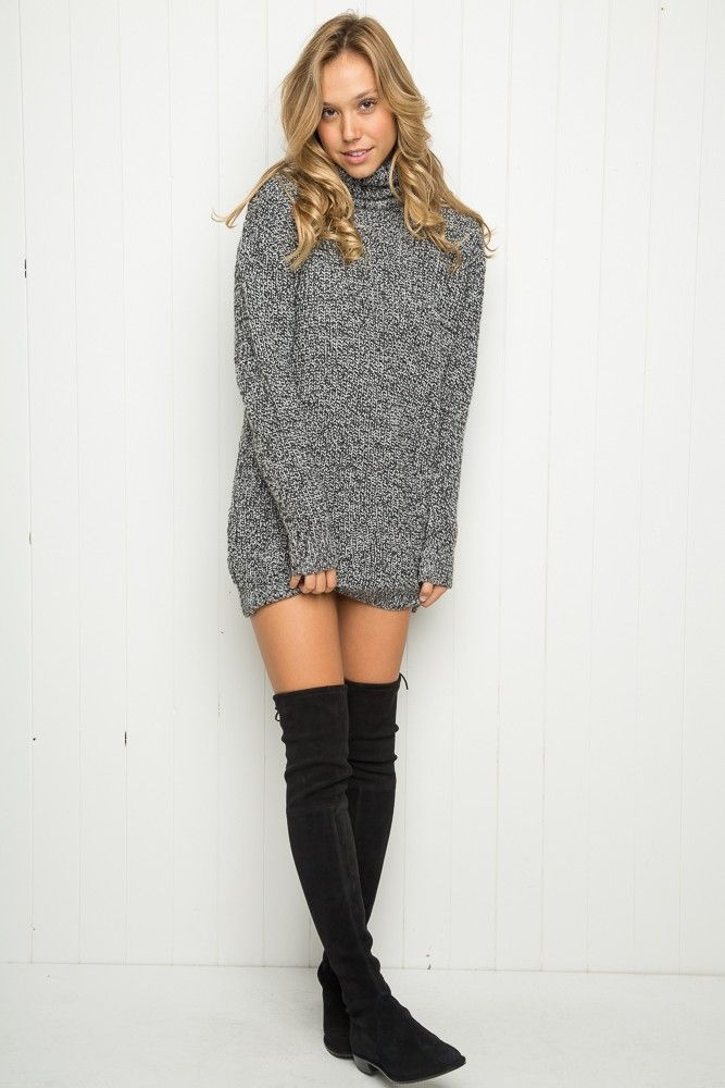 Brandy ♥ Melville | Marcy Turtleneck Sweater - Sweaters - Clothing