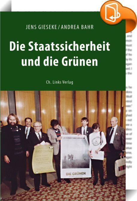 Die Staatssicherheit und die Grünen    ::  Als die Grünen 1980 die politische Bühne betraten, waren Aktivistinnen wie Petra Kelly für die DDR zunächst umworbene Partner in der Friedensbewegung. Doch als Verfechter eines blockübergreifenden Politikansatzes wurden die Grünen mit ihren Wahlerfolgen im Westen zunehmend unbequem. Die DDR-Führung versuchte, gegen die grüne Doppelstrategie von offiziellem Dialog mit den SED-Oberen und Basiskontakten zur Unterstützung der DDR-Opposition geheim...