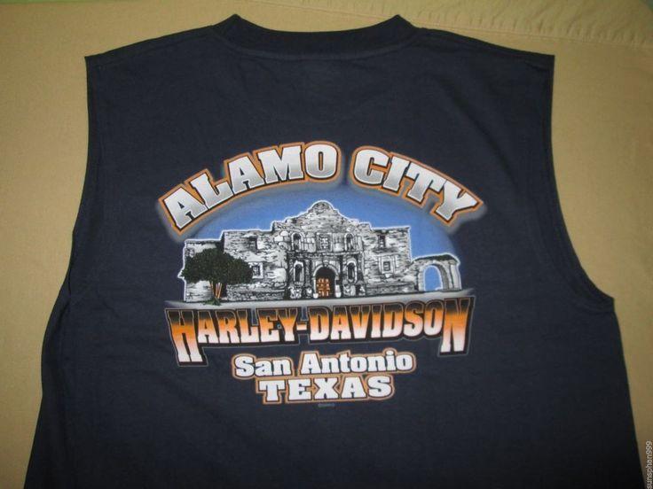 harley-davidson sleeveless blue t-shirt | harley davidson dealers