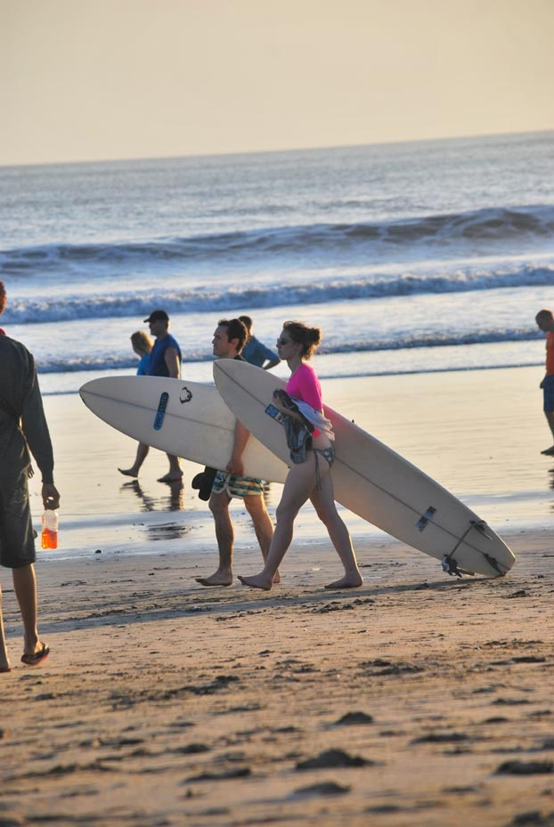Surfer at Kuta Beach - Bali - Indonesia