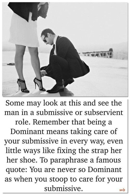 Being The Submissive In A Relationship
