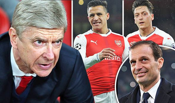 Arsenal Uncovered: Allegri revelation Sanchez and Ozil nightmare transfer plans revealed   via Arsenal FC - Latest news gossip and videos http://ift.tt/2n9C01g  Arsenal FC - Latest news gossip and videos IFTTT