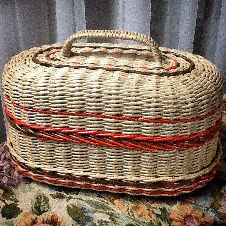 Хлебница плетение из газет