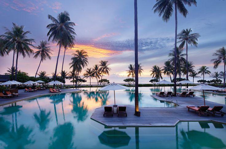 Sunrise over Pranburi Coastline