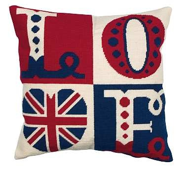 ♥♥♥ Union Jack cusion This is adorable! A must have for my union jack room!
