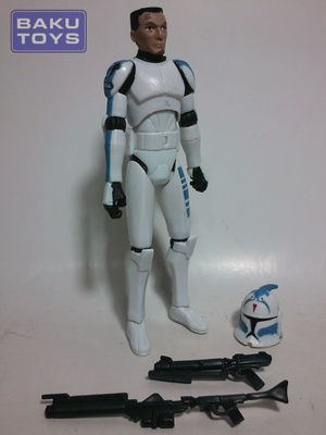 Star Wars 3.75 Clone Trooper Fives TCW Defend Kamino Pack