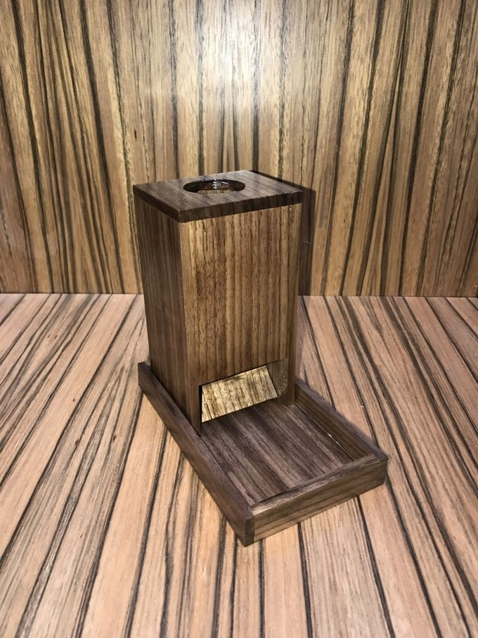 Solid Walnut Dice Tower and Tray (With images) Dice