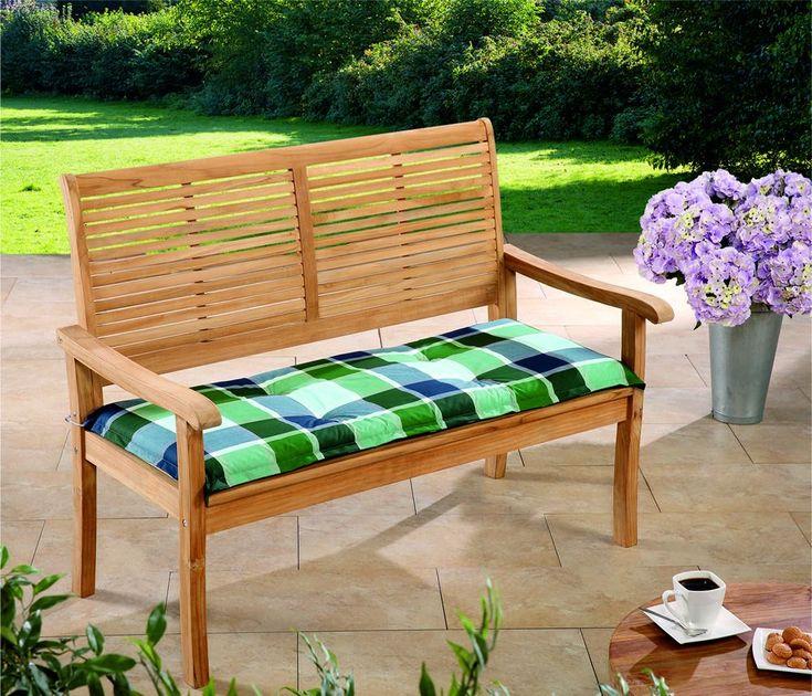 Solax-Sunshine Sitzbank-Auflagen Karo Blau-Grün Jetzt bestellen unter: https://moebel.ladendirekt.de/garten/gartenmoebel/sitzauflagen/?uid=73ec1bff-aa18-5e57-bb62-0c5403998d28&utm_source=pinterest&utm_medium=pin&utm_campaign=boards #möbel #wohnzimmermöbel #polstergarnituren #sitzauflagen #einrichtung #polstermöbel #garten #gartenmoebel Bild Quelle: norma24.de