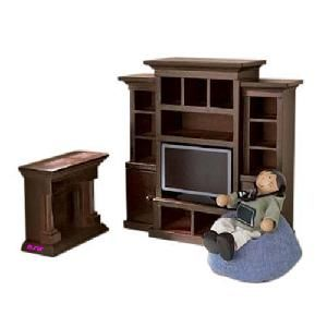 2014 New Kids Wooden TV Cabinet Toy Popular Children Set And