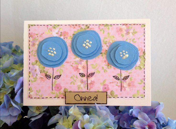 Onnittelukortti / DIY card