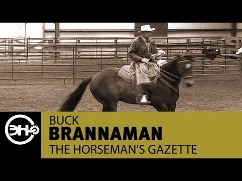 Cow Horse Turnarounds with Buck Brannaman (snippet from Horseman's Gazette) @nicolepoyo