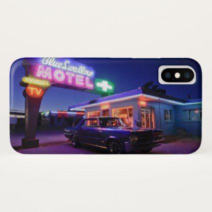 Tucumcari New Mexico United States. Route 66 2 iPhone X Case - artists unique special customize presents