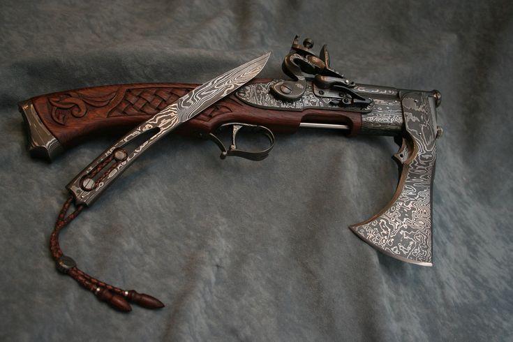 COMBO-AXE (Gun-Knife) - csabavojko