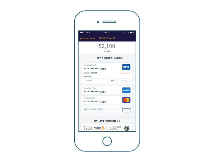 Payment Wallet (Updated) by Akash Bhadange