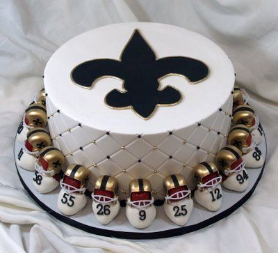 Who Dat!: Whodat, Who Dat, Football, Cupcakes, Saints Cakes, Amazing Cakes, Food, Decorated Cakes, Dr. Who