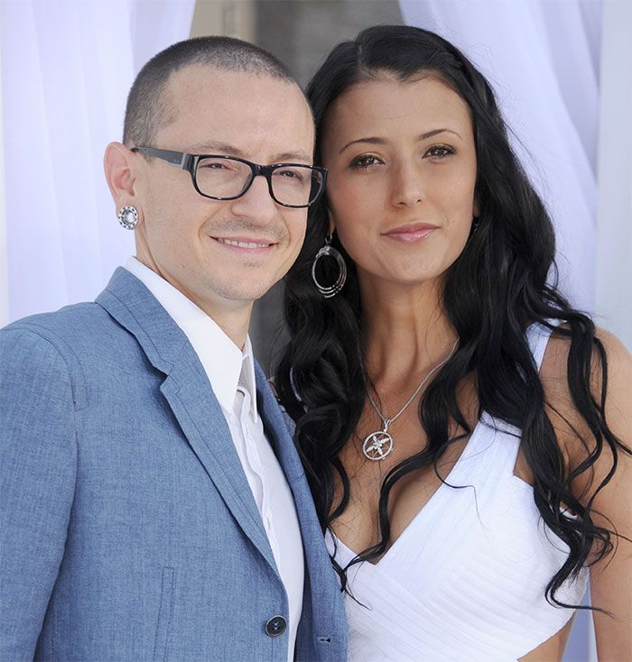 "Chester Bennington's Widow Posts Video Of Him 36 Hours Before His Death – ""This Is What Depression Looked Like To Us"""