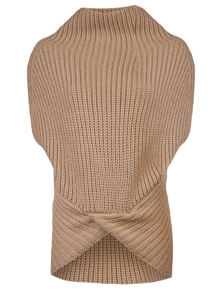 Cocoon Vest Sweater
