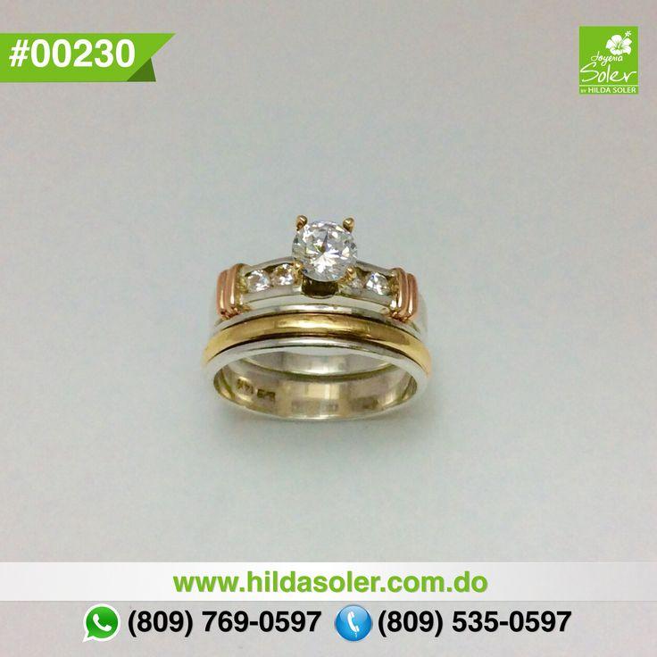 Anillos de matrimonios en plata y oro  RD $6,500 pesos  Grabado .... GRATIS