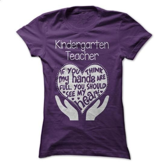 Kindergarten Teacher T-shirt - custom tee shirts #sweaters #tee shirts