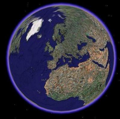 Met Google Earth heb je de beschikking over een interactieve wereldbol op het digibord.