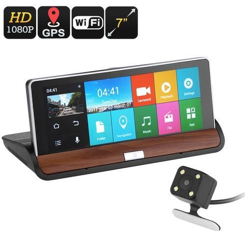 Car DVR Kit With GPS Navigation Gps navigation, Android