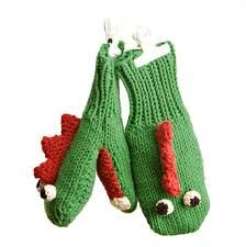 So Winter is quickly approaching, these mittens will help keep your hands warm... and provide entertainment!