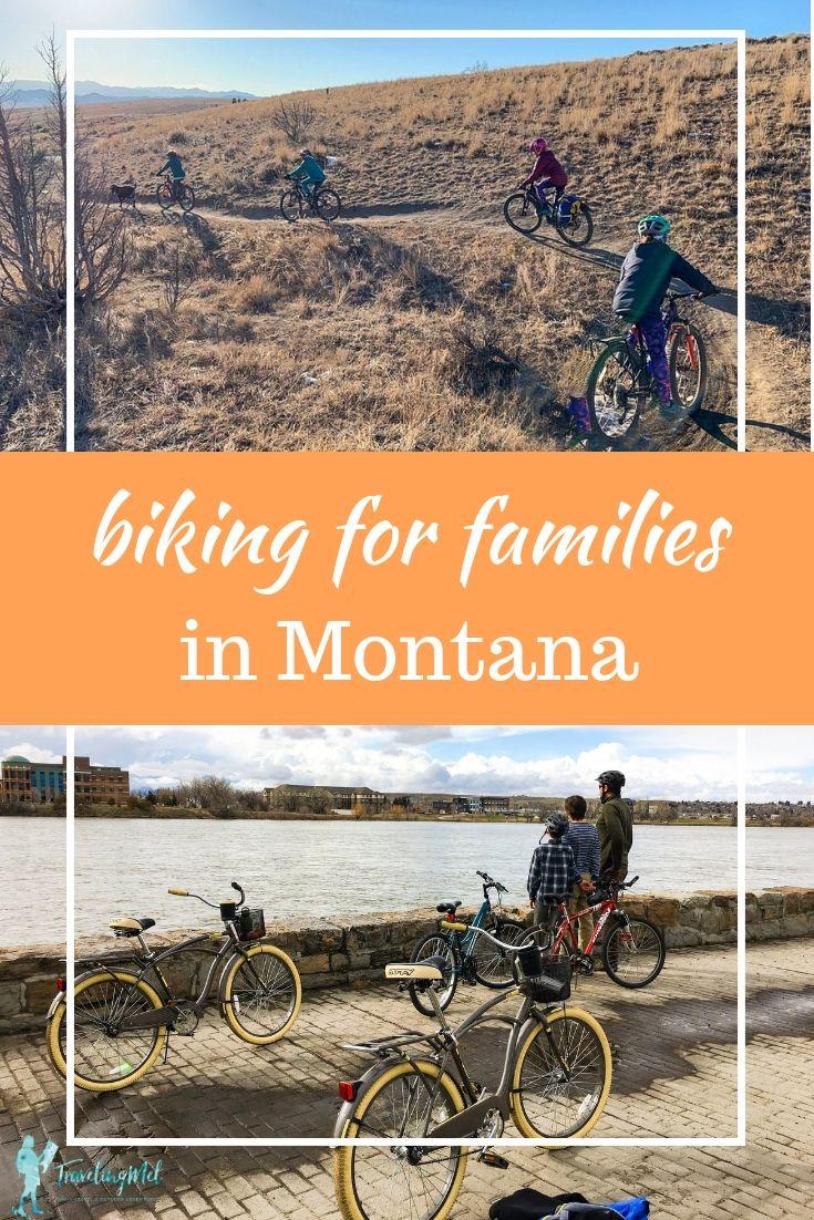 Family Trail Adventures Best Bike Rides And Best Hikes In Montana Travelingmel Family Adventure Travel Outdoor Biking Bike Ride