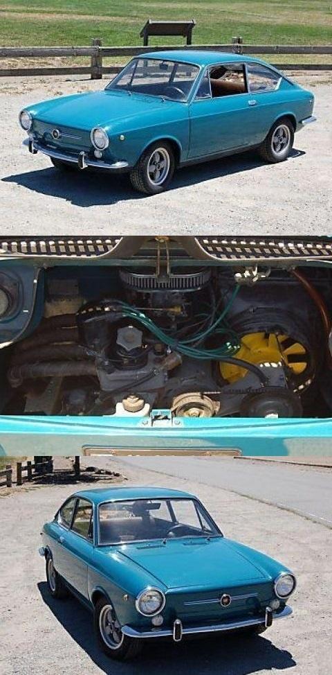 1968 Fiat 850 Coupe (+200cc)